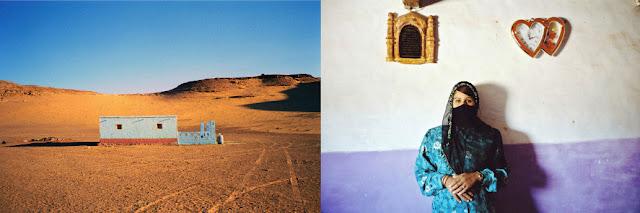 domostwo na pustyni, portret kobiety