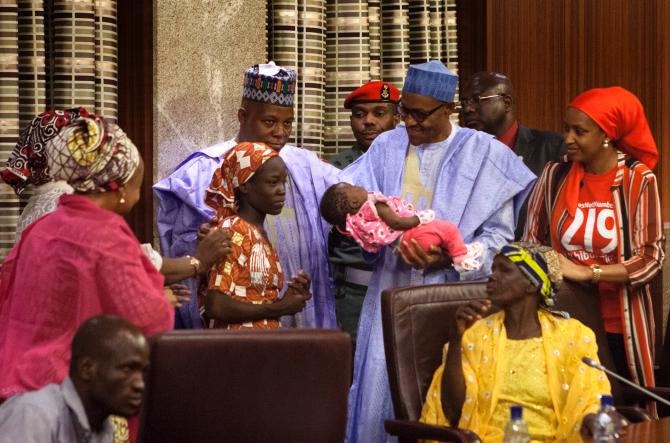 Chibok teen rescued after 2years