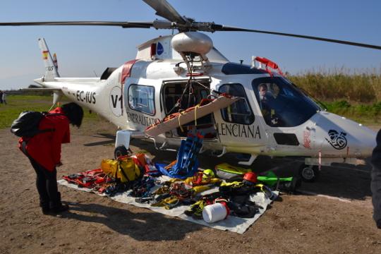 El Centro de Coordinación de Emergencias de la Generalitat ha coordinado en 2018 un total de 262 servicios de búsqueda, salvamento y rescate