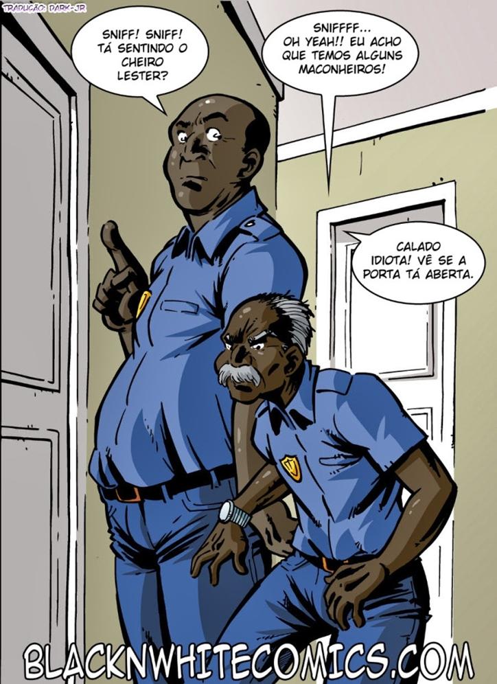 Hentai Polícia do campus