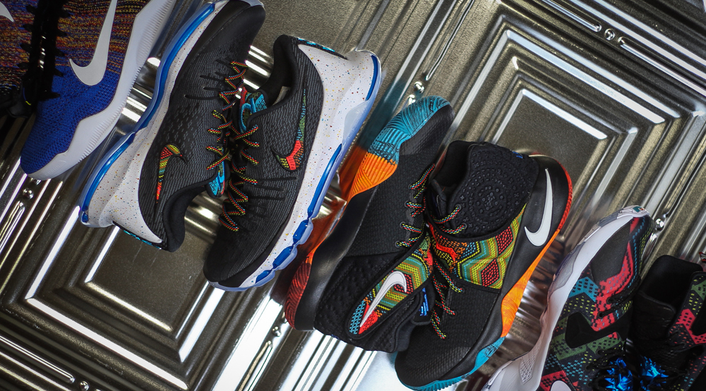ce5ae325951 Here is what Nike Basketball cooked for this year s Black History Month.  Four signature models were tapped to represent BHM namely the Kobe 11