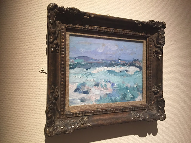 French Impressionist Art in the Kelvingrove Art Gallery & Museum, Glasgow, Scotland