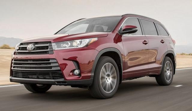 Toyota Highlander 2018 Specs In Canada