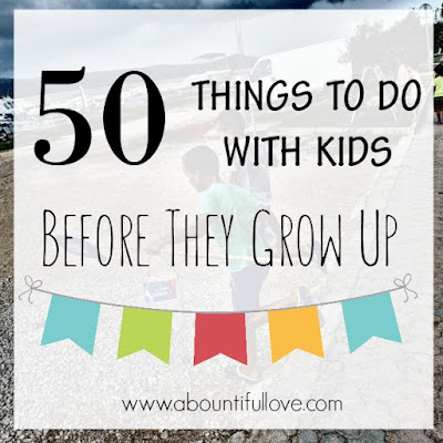 Great list of frugal and free things to do with your kids to build strong relationship