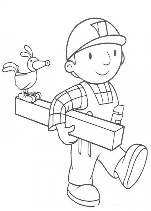 Fun Coloring Pages: Bob the Builder Coloring Pages