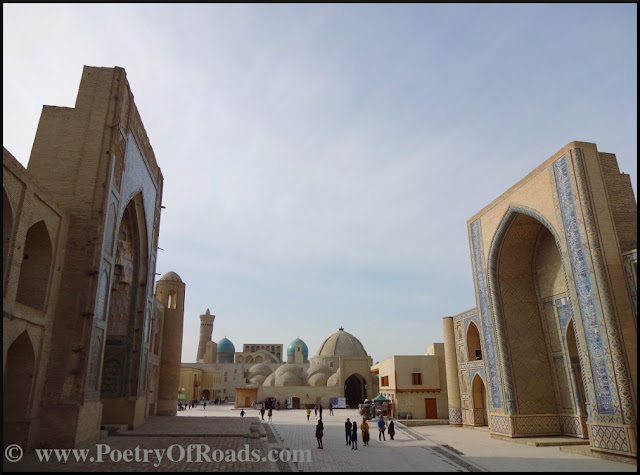 Glimpses of Uzbekistan - the Itinerary