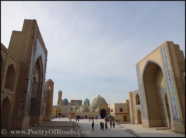 Glimpses of Uzbekistan - the Itinerary