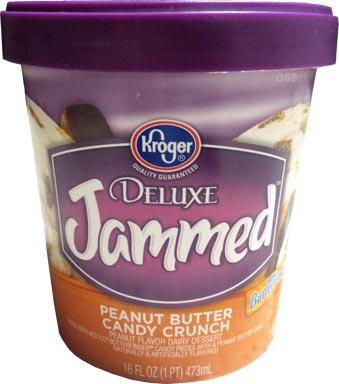 On Second Scoop: Ice Cream Reviews: Kroger Deluxe Jammed ...