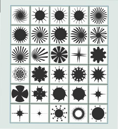 تحميل أشكال دوائر وخطوط للفوتوشوب مجاناً, Photoshop  Shapes free Download, Circles and lines PS Shapes free Download