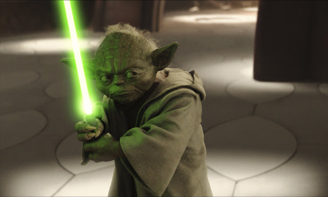 Star Wars Tapetti Yoda