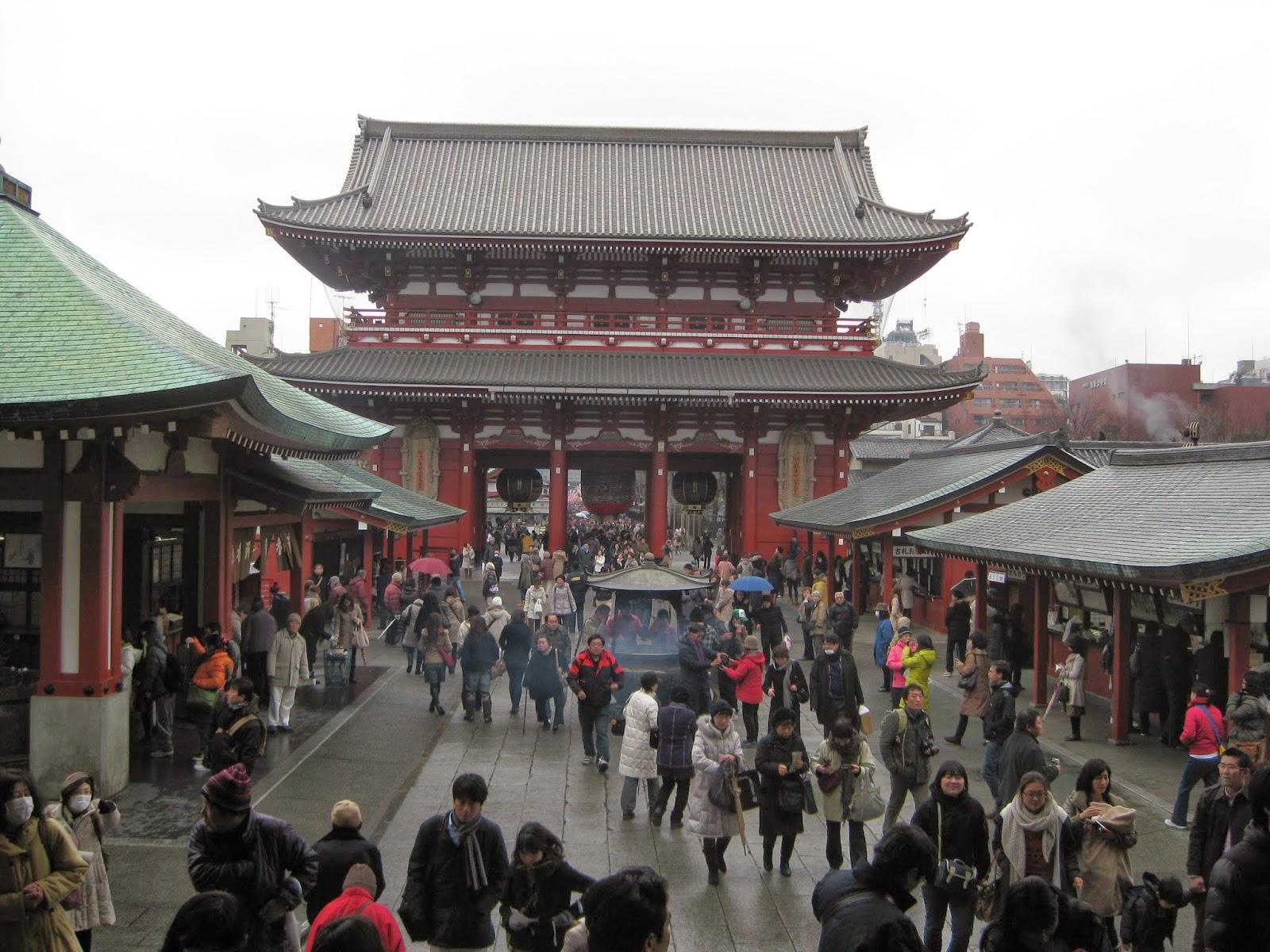 Tokyo - Senso-ji temple