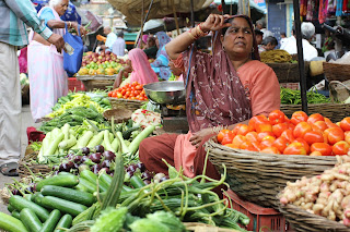 Inspired in India | Just one of India's many colourful markets