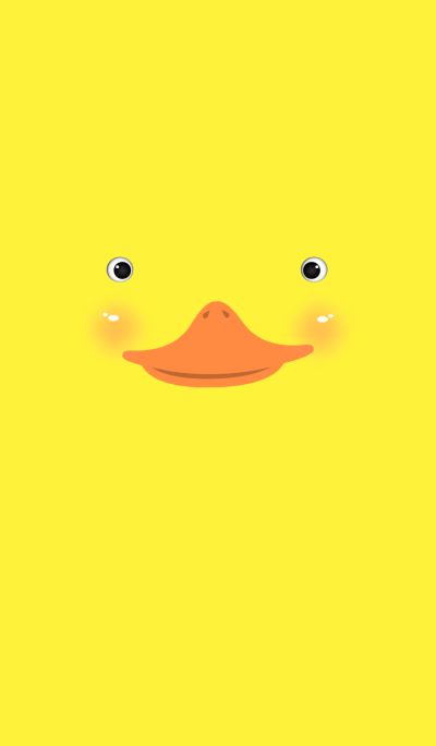 Simple Yellow Duck Face theme
