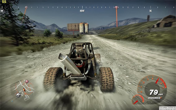 FUEL (2009) Game ScreenShot 03