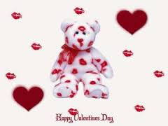 Cute Teddy Kissing Teddy Day Wallpaper