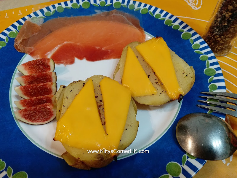 baked cheese potato DIY recipe 芝士焗薯自家食譜