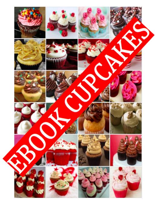 EBOOK COM 24 RECEITAS DE CUPCAKES