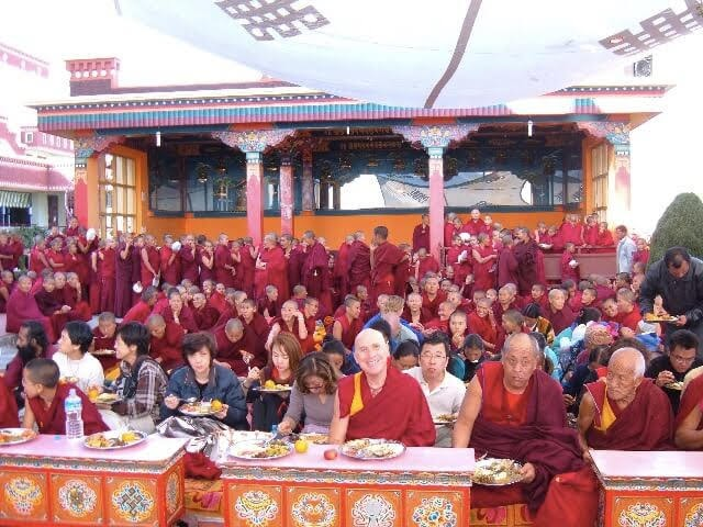 Venerable George Meditation Course Teacher at Kopan