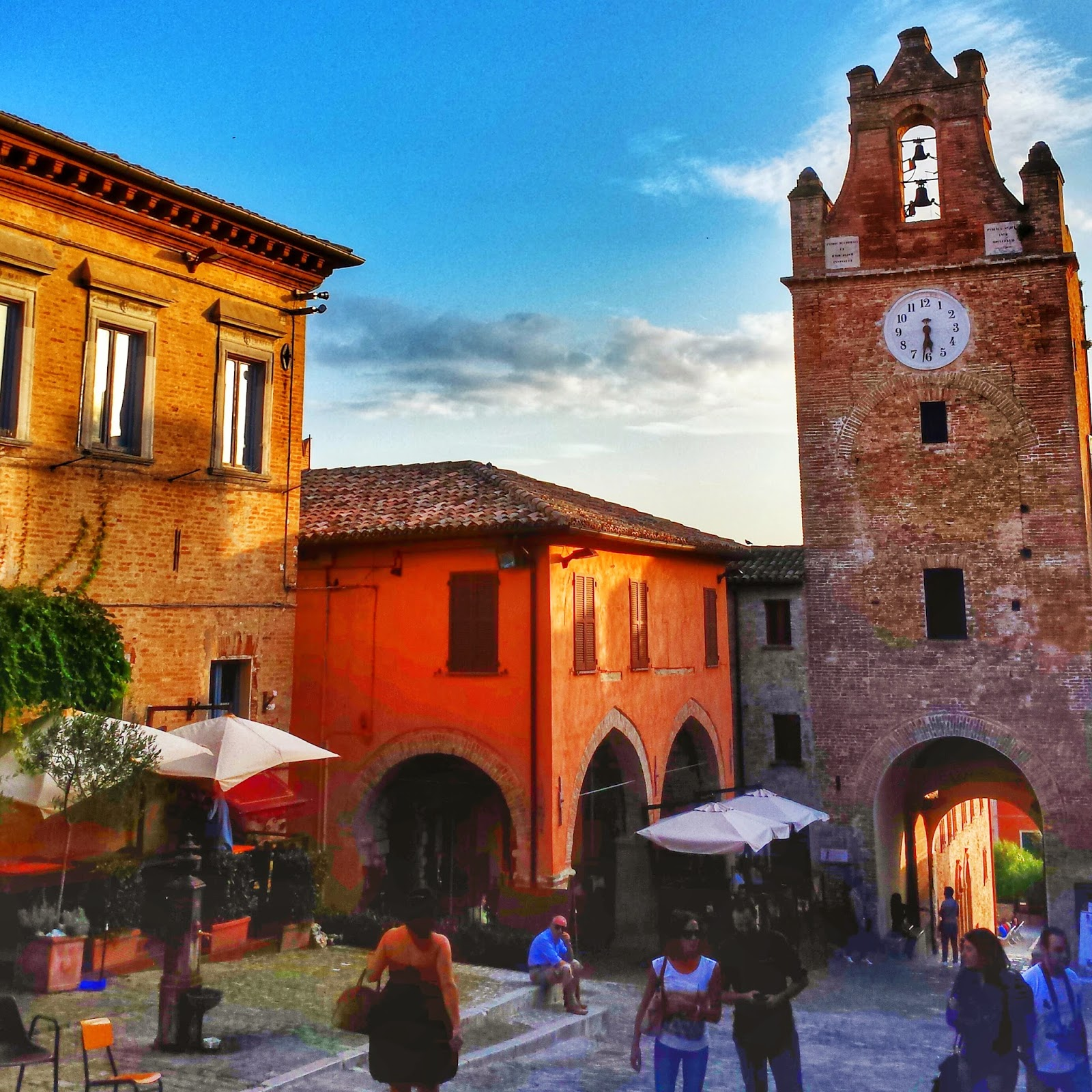 Gradara, Italy, Castles, Medieval fortress, small towns in Le Marche