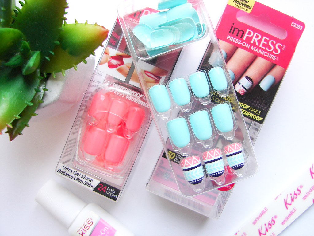 Fuss-Free Nails: KISS ImPress Press-On Manicure | Pretty and Polished
