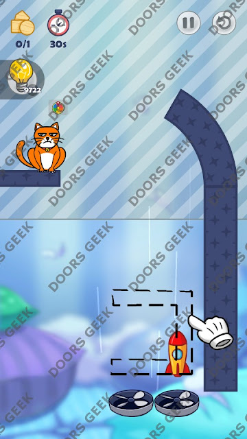 Hello Cats Level 209 Solution, Cheats, Walkthrough 3 Stars for Android and iOS