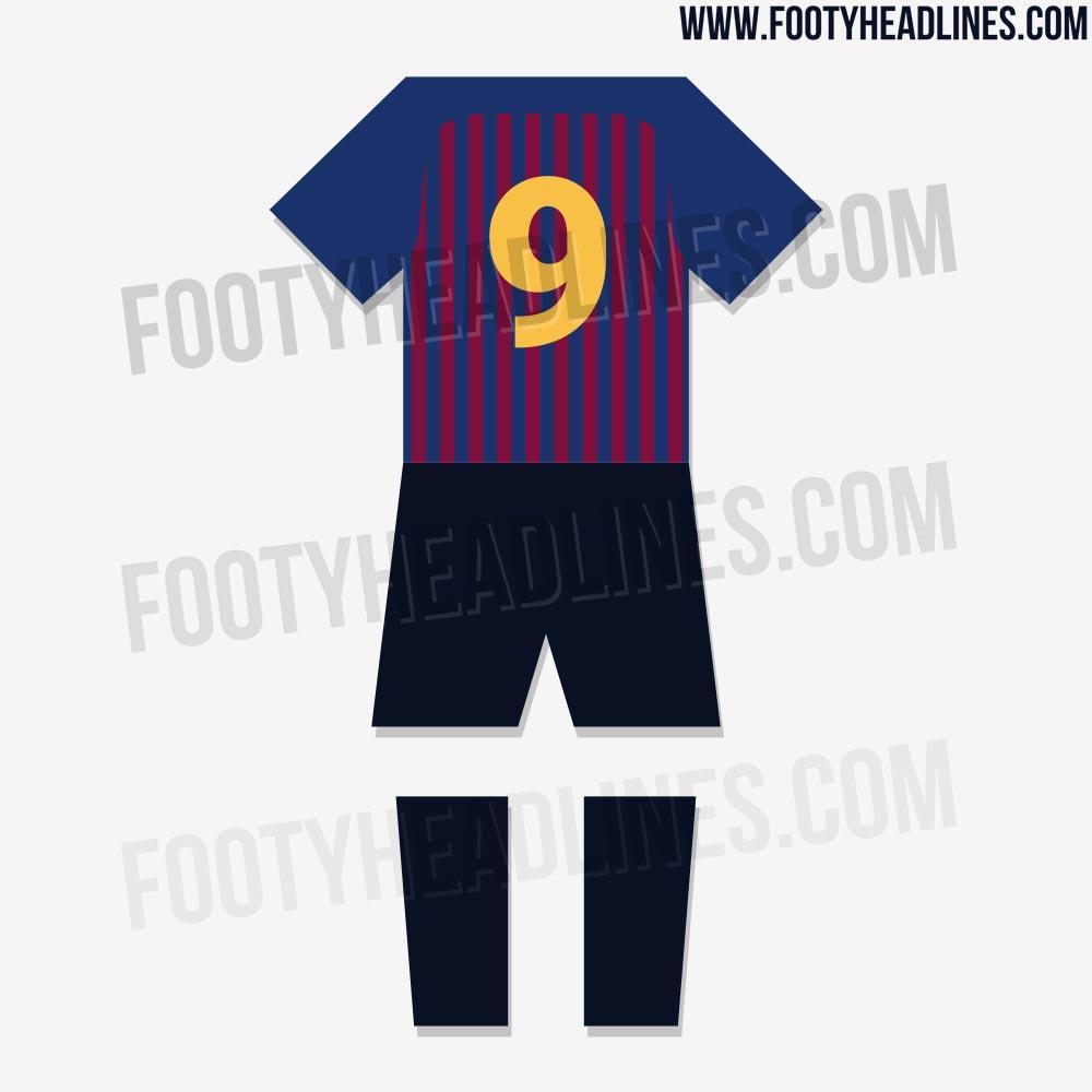 ed8482f74 Wyciekł projekt koszulki treningowej na sezon 18/19 | FC Barcelona ...
