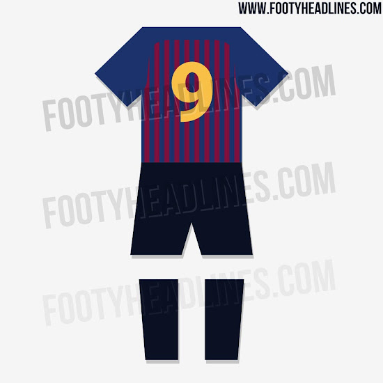 Camiseta Barcelona 2018
