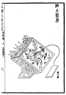 Ming Dynasty Rocket Barrage