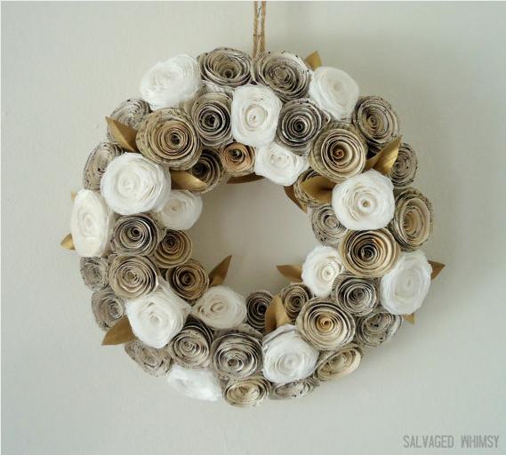 The Dusty Victorian Christmas Wreath 2012