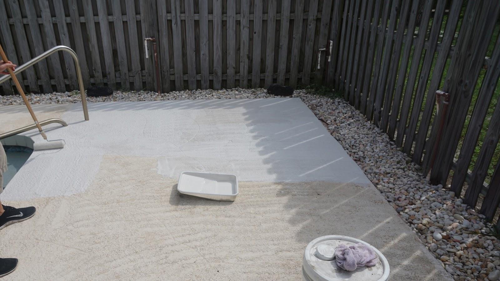 Behr Concrete Stain In Fresh Cement