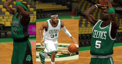 NBA 2K13 Boston Celtics 2013 Jersey Update Patch