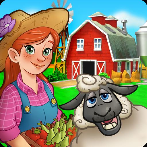 تحميل لعبه Farming Farm - Village Harvest Frenzy مهكره وجاهزه (نقود وجواهر لا نهايه)