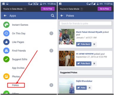 How To See Pokes On Facebook