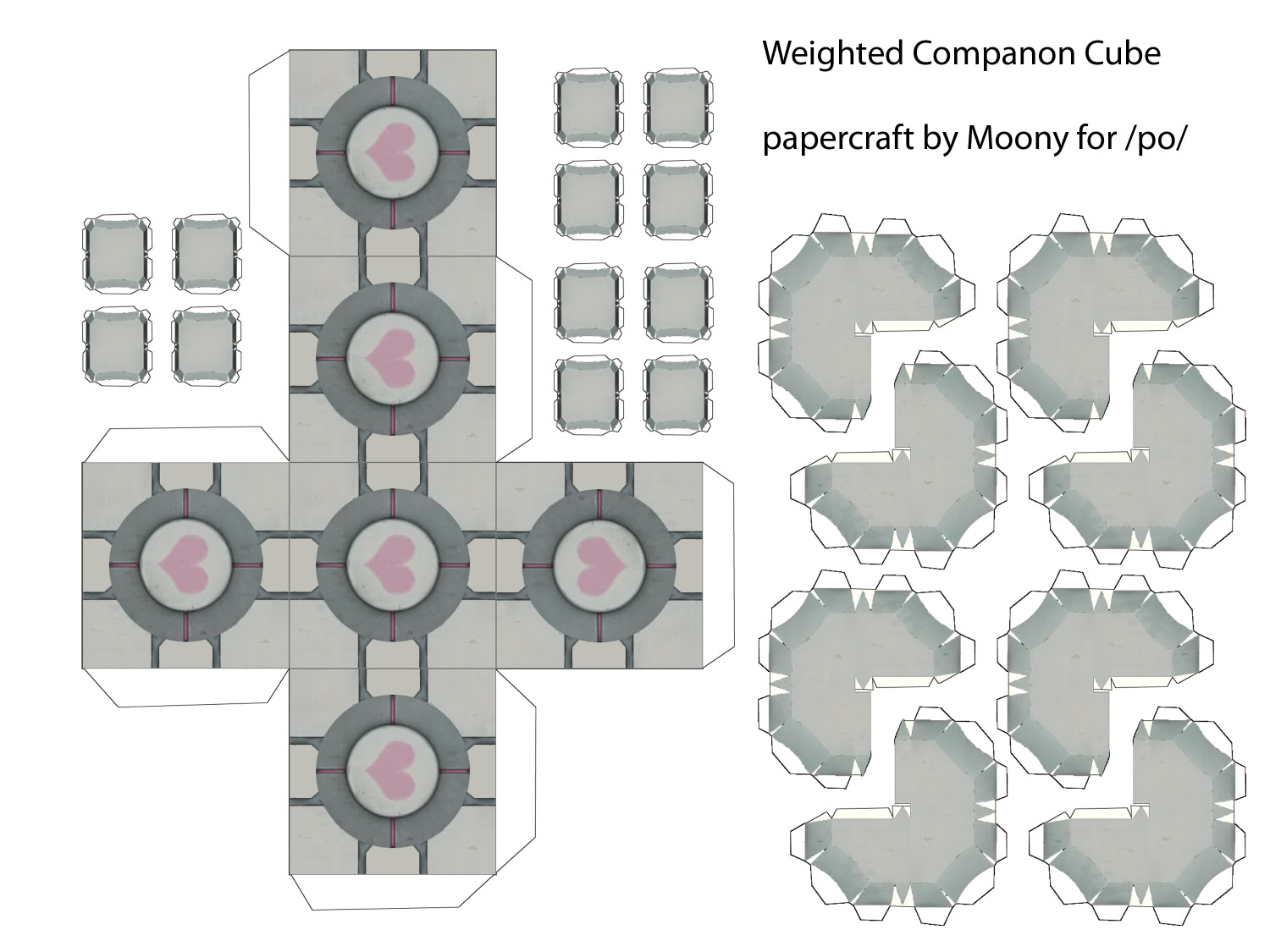 Companion Cube And Friends Weighted Companion Cube Paper