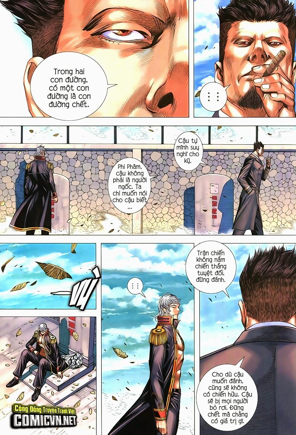 Đại Quân Phiệt chap 21 trang 23