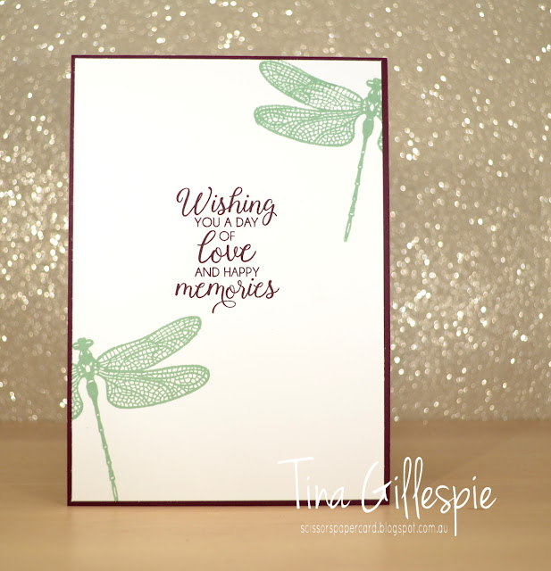 scissorspapercard, Stampin' Up!, CASEing The Catty, Beautiful Bouquet, Dragonfly Dreams Bundle, Stitched Labels Framelits