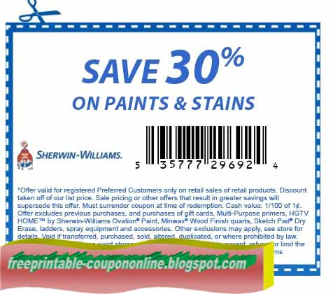 Sherwin williams coupons april 2018