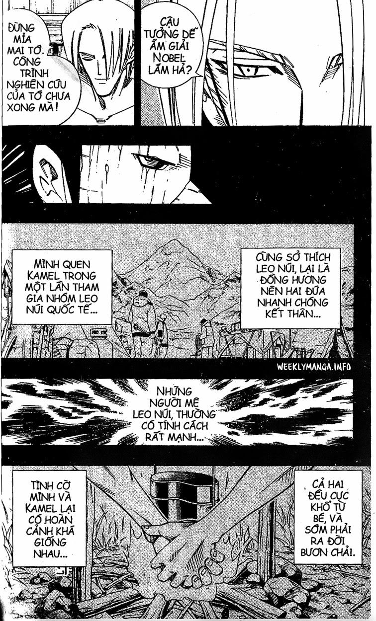 Shaman King [Vua pháp thuật] chap 202 trang 4