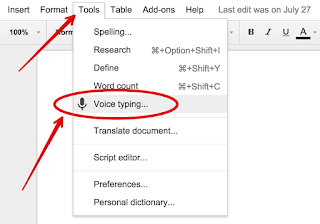 how to get a text box in google docs