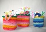 How to crochet a mini-shopper