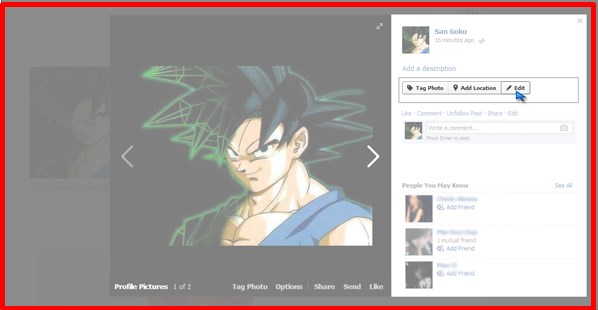 how to make current profile picture private on facebook