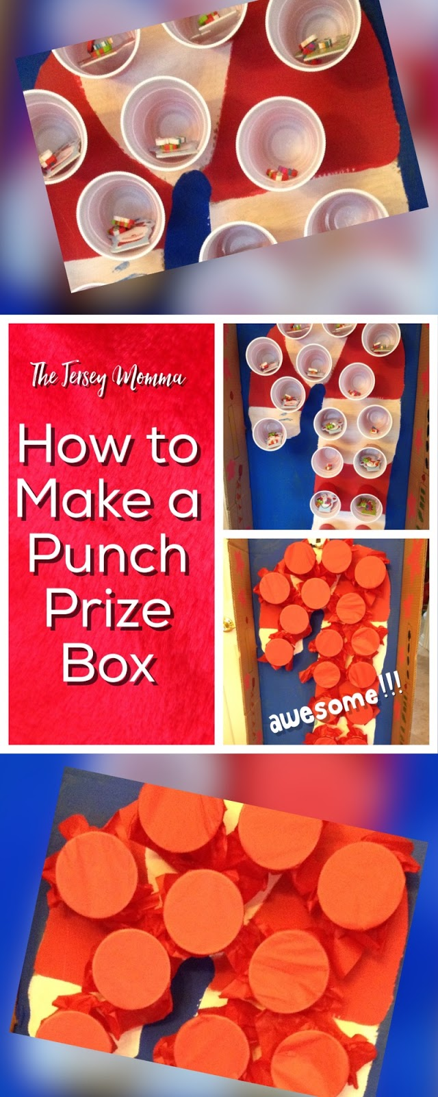 Classroom Prize Ideas : The jersey momma how to make a punch prize box for class