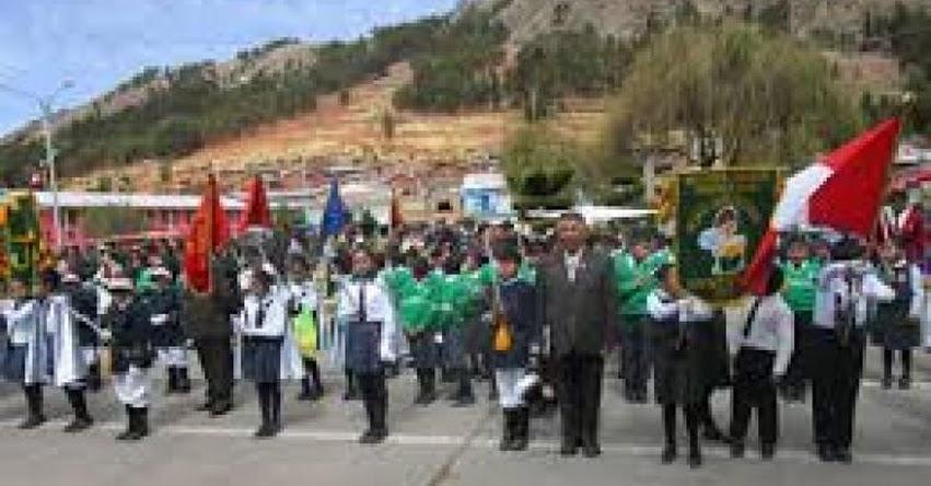 Suspenden labores escolares en Moho - Puno