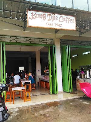 Kong Djie Coffee Sejak 1943