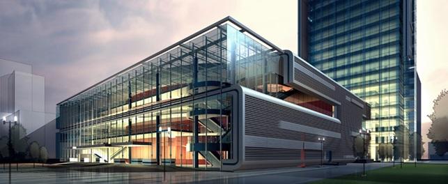 edificio-progettato-con-programma-di-modellazione-in-3d