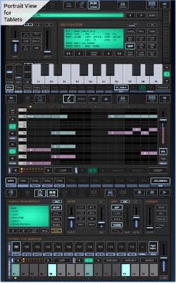 live musik aransemen dengan aplikasi G-Stomper Studio v5.1.2.2 Apk Full Pro Gratis