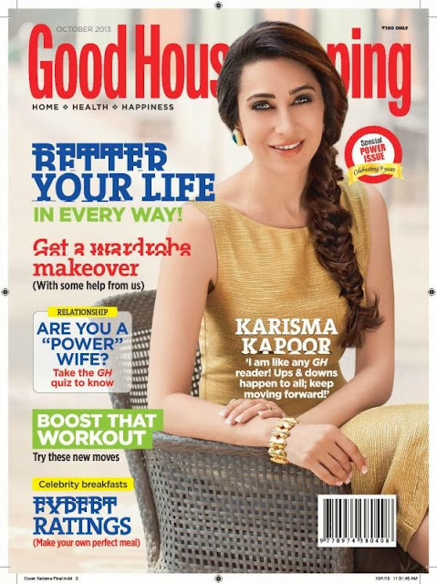 Karisma Kapoor's Photo shoot for Good Housekeeping magazine