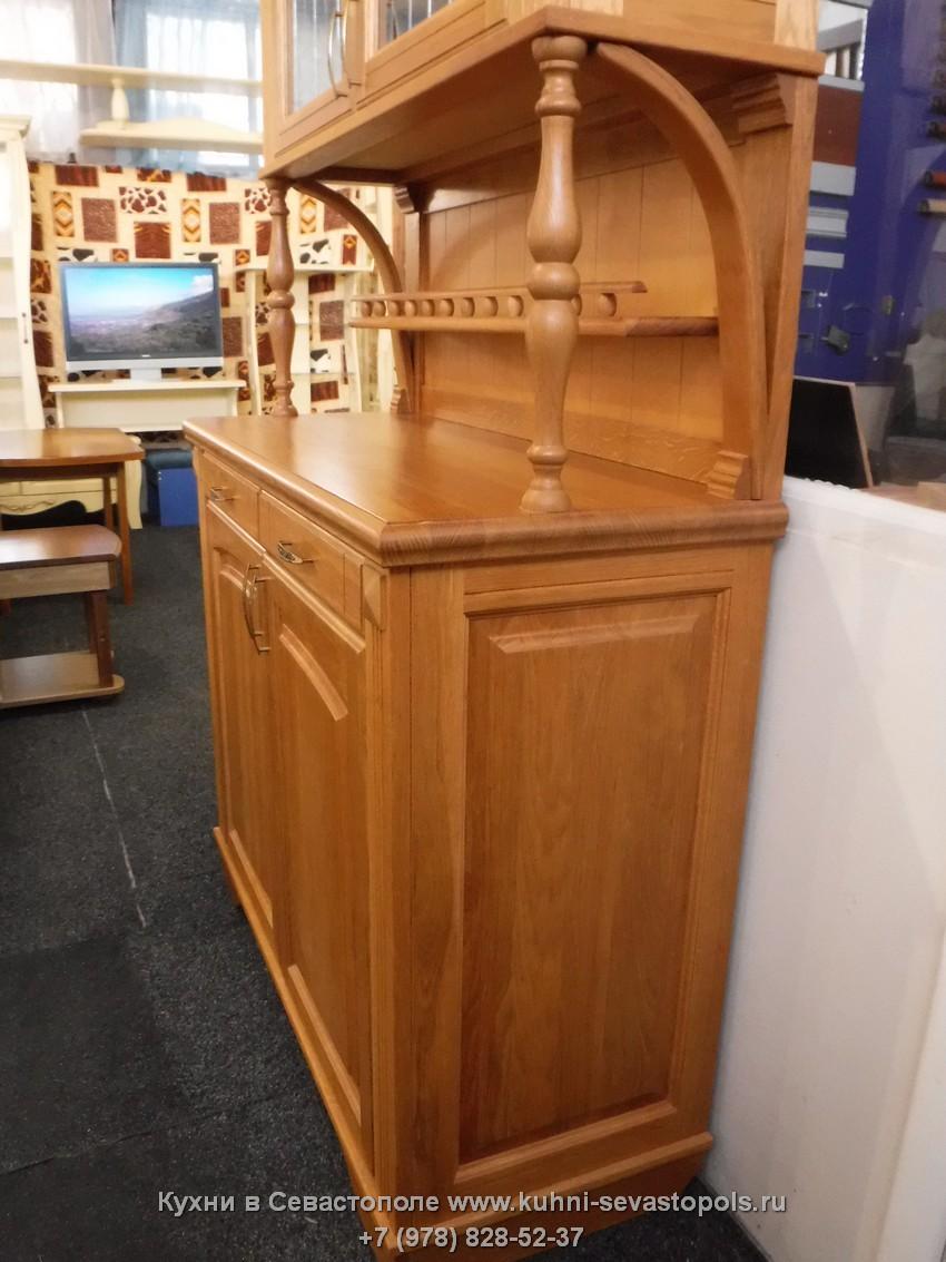 Деревянный буфет для дачи Севастополь