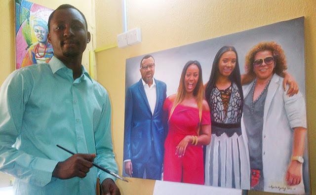 nigeria best painting artst, drawing