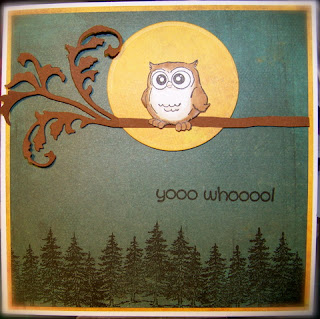 Art Impressions Blog: Challenge 59 - Anything Owls!